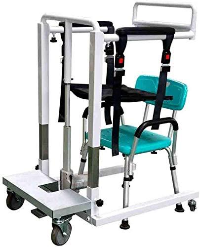 Retractable Patientenhebeträger Übergangsmaschinen- leicht zerlegbar Carry Ganzkörper-Transfer Belt Strap for Oberschenkel Hüfte Taille lumbalen Rücken Unterstützt Geeignet for Paralyzed Ältere Home C