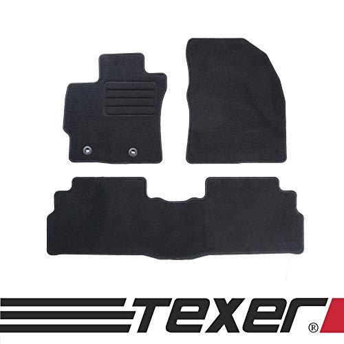 test Die textilen Fußmatten CARMAT TEXER sind für Toyota Verso Bj geeignet.  2013-2018 Basic Deutschland