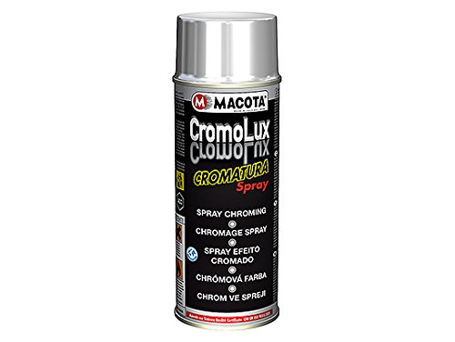 Cromolux Spray efecto cromado 400ml MACOTA