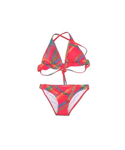 Westbay 23442 Damen Bikini C-Cup Größe 38, orange mit Schalen