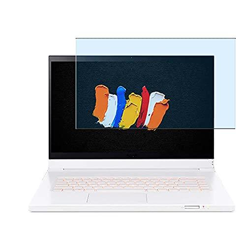 Vaxson Protector de Pantalla de Cristal Templado Anti Luz Azul, compatible con Acer ConceptD 7 Ezel CC715-71 15.6' [solo área activa] 9H Película Protectora