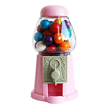 ModParty Pink Gumball Machine Kids Party Favors Set of 6 Bubble Gum Mini Candy Dispenser  GUMBALLS NOT INCLUDED