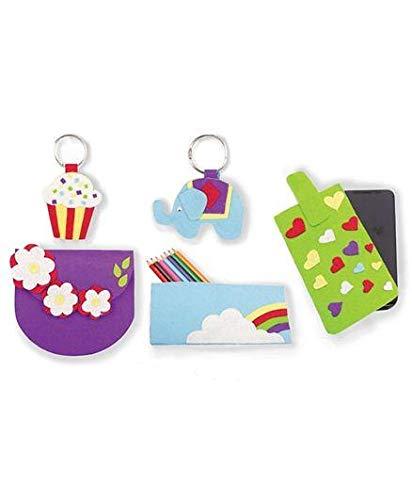SRM Colourful Felt Craft Accessories - Random Colour