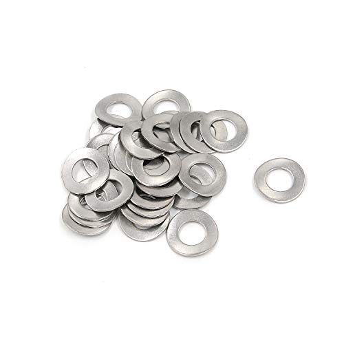 Wave Washer Karcy 10mm Ring Gasket 316 Stainless Steel Silver Pack of 30