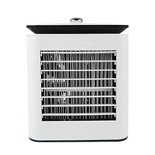 wivarra Personal Air Cooler - Evaporative Air Coolers with Icebox, Portable Table Fan with 4 Fan Speeds, Air Conditioner