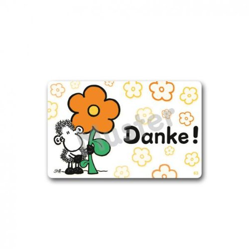 Sheepworld Pocketcard 57148 Danke!