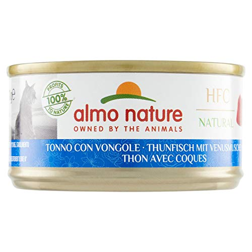 almo nature HFC Chat - Thon & Moules - 24 x 70 g