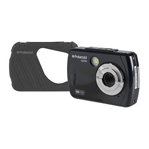 Polaroid IS048 Digital Camera - Small Lightweight Waterproof Instant Sharing 16 MP Digital Portable Handheld Action Camera (Black)