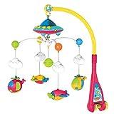 Surreal bébé mobile musical avec Starlight de projection - lit mobile