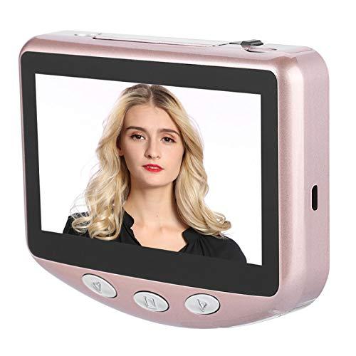 Sxhlseller Timbre con Video Inteligente, Monitor en Tiempo Real de 24 Horas, Pantalla LED de 4.3 Pulgadas para el hogar/la Oficina