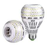 27W (250 Watt Equivalent) A21 Dimmable LED Light Bulbs, 4000 Lumens, 5000K Daylight, 270° Omni-Directional, E26 Medium Screw Base LED Floodlight Bulb, 5-Year Warranty, SANSI (2 Pack)