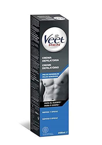 Veet for Men Crema pelli sensibili petto- corpo 200ml