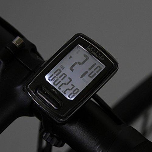キャットアイ(CATEYE)サイクルコンピュータVELOWIRELESS+CC-VT235Wブラック160-4302スピードメーター自転車