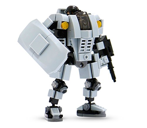 MyBuild Mecha Frame Mech Suit Model Kit Building Blocks Toy Base Defender MF05-A01