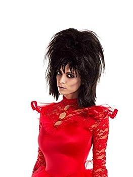 Party King Beetle Bride Wig Black Black Size STD