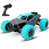 Tecnock RC Cars 1:14 Scale Large Remote Control Car for Adults Kids,36 km/h Hobby Grade 4WD Off Road High Speed Monster Truck Toys,2.4Ghz RC Buggy,All Terrain Vehicle for Boys Girls