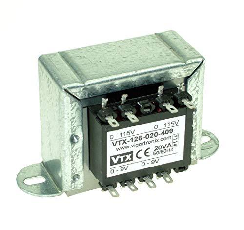 2 x 6 V 2 x 115 V Transformador de corriente encapsulado de 2,3 VA