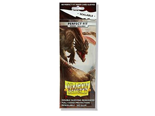 Dragon Shield - Smoke Sealable - 100 Protector Sleeves