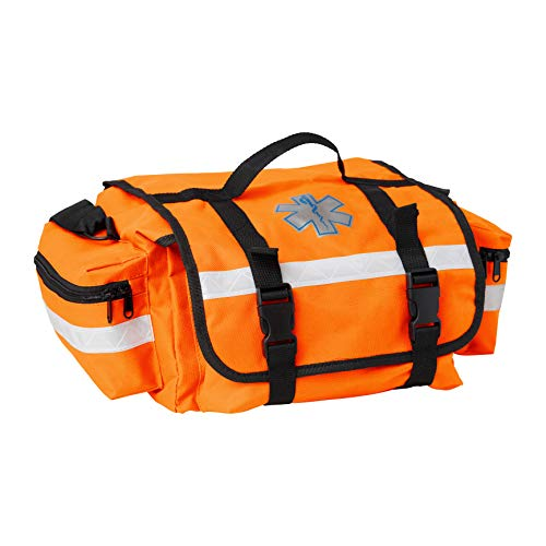 Primacare KB-RO74-O Trauma Bag, 7' Height x 17' Width x 9' Depth, Orange