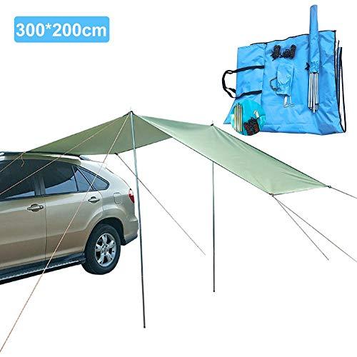 Sunronal Auto-Markise Regenfestes Tuch, Outdoor-Plane-Markisentuch für Autohaus Sun Shelte Camping Zelt Garten Hängemattenbezug (mehrere Größen)