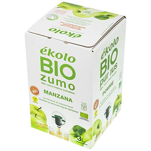 Ekolo Bag in Box Zumo De Manzana Bio, 1 Caja,