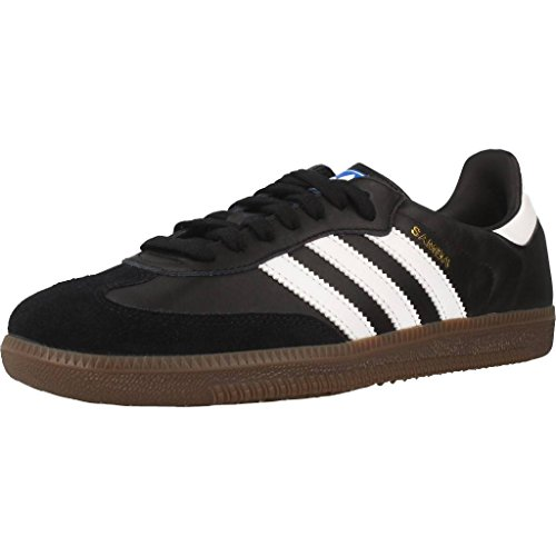 Adidas Samba OG, Zapatillas de Gimnasia para Hombre, Negro (Core Black/Footwear White/Gum 0), 43 1/3 EU
