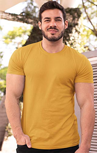 FULL TIME SPORTS® 3 4 6 Paquete Assorted Langarm-, Kurzarm Casual Top Multi Pack Rundhals Camisetas (Medium, 6 Pack - Vintage Assorted)