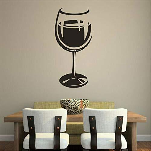 Personalisierte Geschirr Weinglas Symbol Aufkleber Küche Restaurant Home Decoration Wandtattoo Schlafzimmer