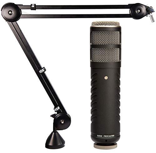 Rode Procaster Broadcast Mikrofon + PSA1 Gelenkarm-Stativ