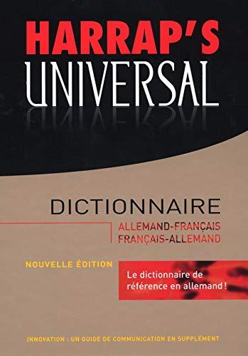 Harrap's Universal : Allemand-Français / Français-Allemand