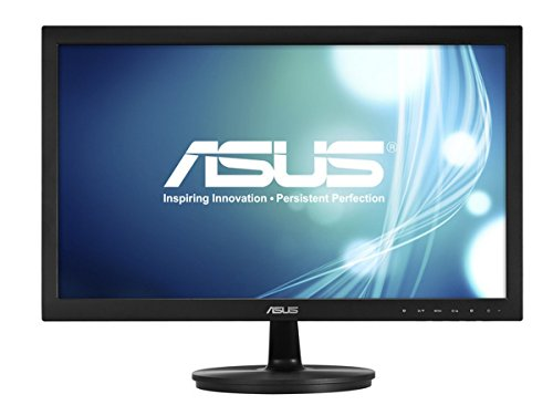 "Asus VS228DE Monitor da 21.5""/54.6 cm, Widescreen, 16:9, WLED/TN, 1920x1080, 1 x VGA, 200 cd/mq, Nero/Antracite"