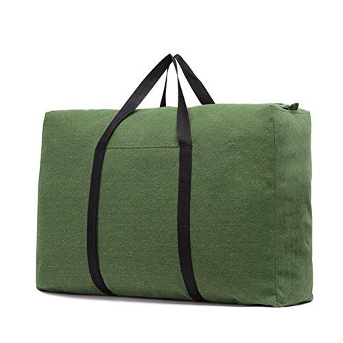 IBLUELOVER Aufbewahrungstasche Groß Spielzeugtasche Oxford Belastbare Betttasche mit Reißverschluss Aufbewahrungsbeutel Hausumzüge Kleideraufbewahrung Unterbett Tragetasche für Bettwäsche Kissen