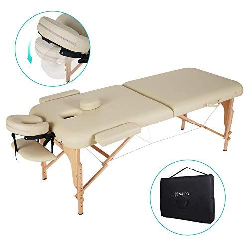 Naipo Table de Massage Pliante Professionnelle Cosmétique...
