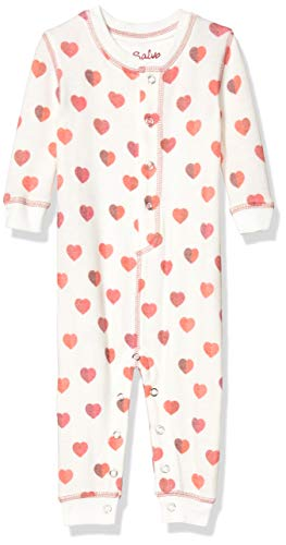 PJ Salvage Kids Baby Girls Peachy Romper Pj