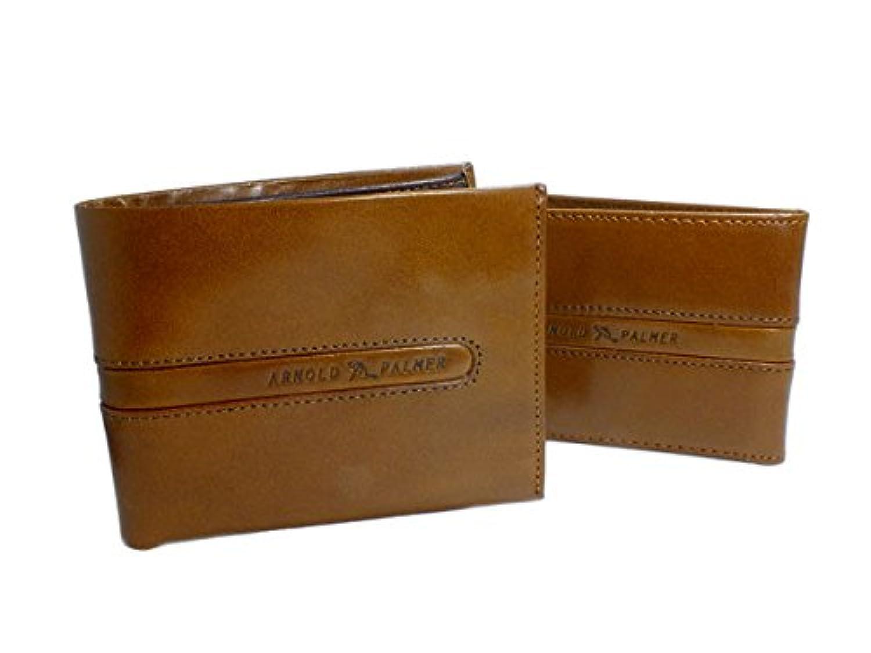 (アーノルドパーマー) ARNOLD PALMER 二つ折り メンズ 短財布 4AP3072-BR ブラウン