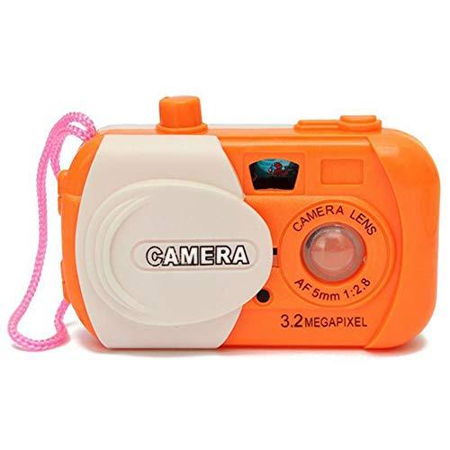 dragonaur-home decor 1 x Kinderspielzeug Kamera Baby Study Kompaktkameras Tierlernspielzeug Lernspielzeug Requisite zufällige Farbauswahl