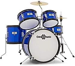 Bateria Junior de 5 Piezas de Gear4music Azul