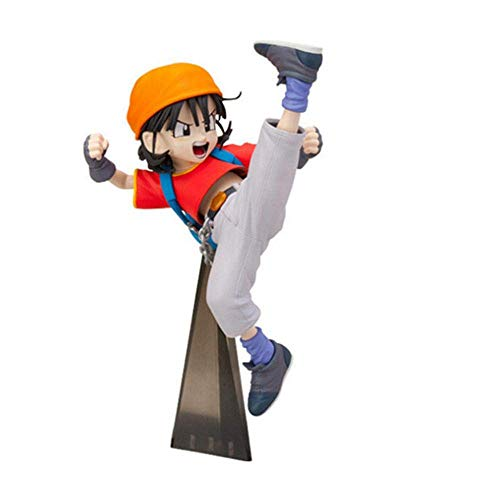 SXXYTCWL Ball Pan Kampf Pose Kakarottos Enkelin animierte Figur Modell Statue Ornament Anime-Charakter-Sammlung jianyou