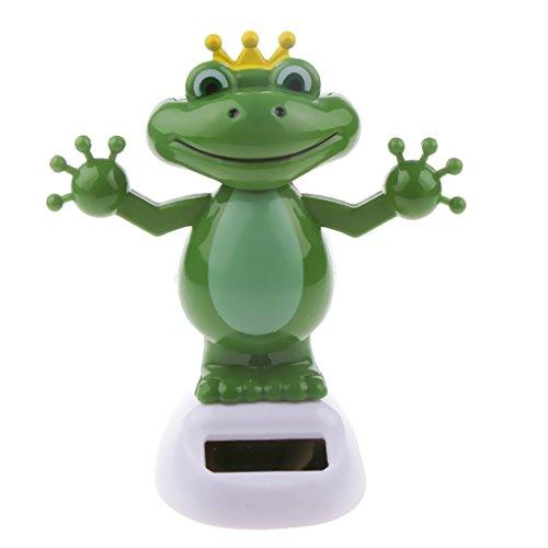 Solar Powered Toy Animal Frogs Figure Dancing Swing Figure Model Toy...