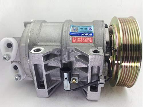 GOWE Compresor de aire acondicionado automático para Nissan Urvan Box 2000-2012 3.0 92600-VW200/92610VW200/5060120170/COMP001
