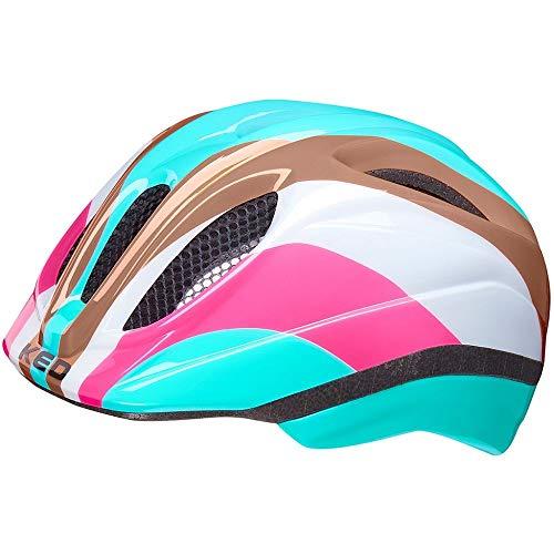 KED Meggy II Trend Helm Kinder Rainbow Retro Blue Kopfumfang M | 52-58cm 2021 Fahrradhelm