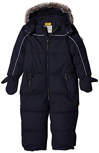 Steiff Unisex Schneeoverall Sportswear-Set, Blau (Marine 3032), 74
