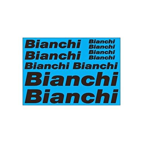 SUPERSTICKI Bianchi sponsorset 351 ca 30 cm motorfiets bike mountainsticker bike auto racing tuning van high-performance folie sticker autosticker tuningsticker high-performance folie