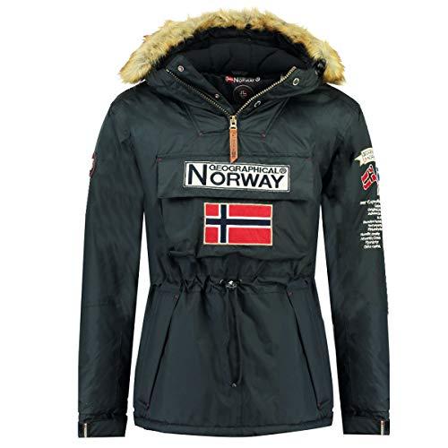 Geographical Norway Barman Parka - Abrigo de plumas para hombre, con capucha...