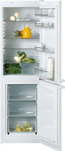 Miele KD 12813 S Kühl-Gefrier-Kombination / A+ / Kühlen: 199 L / Gefrieren: 85 L / Weiß / ComfortClean - hygienische Reinigung