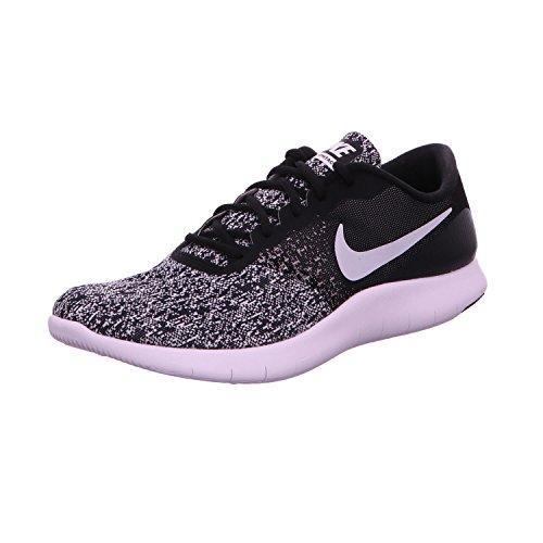 Nike Mens Flex Contact Running Shoe Black/White 15 M US