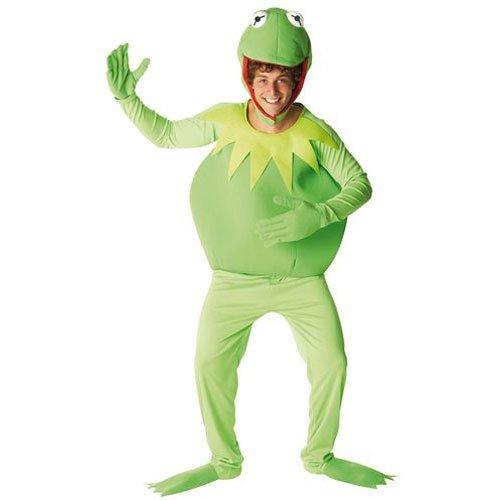 Rubie's Kermit-Kostüm Muppets Show für Herren XL