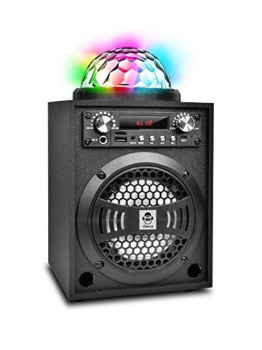 iDance Party Box BLASTER 5 20W zwart - draagbare luidspreker (10,2 cm, 20 W, 90-20000 Hz, lokaal & draadloos, zwart, digitaal)