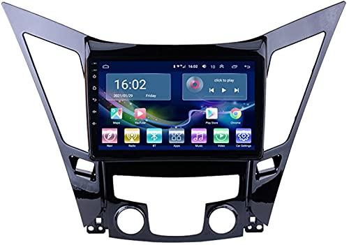 Estéreo para automóvil para Hyundai Sonata 8 YF 2010-2015 Reproductor de navegación por Radio Android 10.0 Unidad Principal Carplay 10.1 Pulgadas IPS Pantalla táctil BT cámara de Respaldo