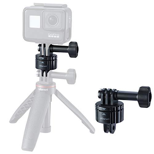 ULANZI Action Camera Magnetische Schnellverschluss-Stativhalterung, 1/4 '' Schraube und GoPro-Schnittstelle, Starke magnetische und sichere Verriegelung für GoPro 4 5 6 7 8 Max DJI OSMO Action Action